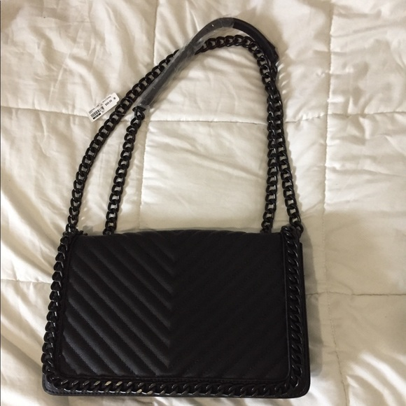 0fe58478643 NWT Greenwald Aldo black Crossbody Bag